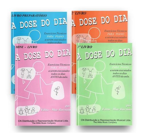 Kit - A Dose Do Dia Coleção Completa - Editora Cn Ricordi