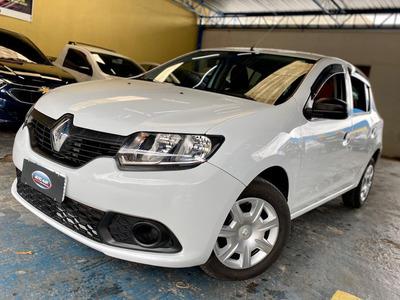 Renault Sandero 1.0 Completo Impecavel Pneus Novos 2016