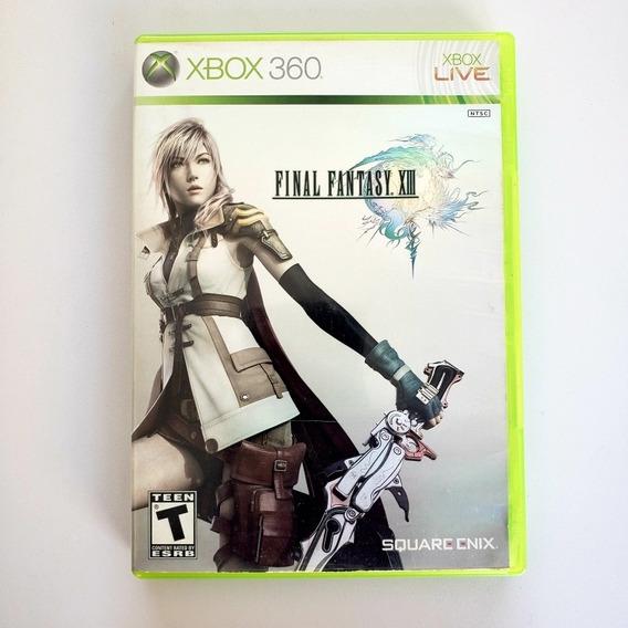 Final Fantasy 13 Original Xbox 360 - Midia Física