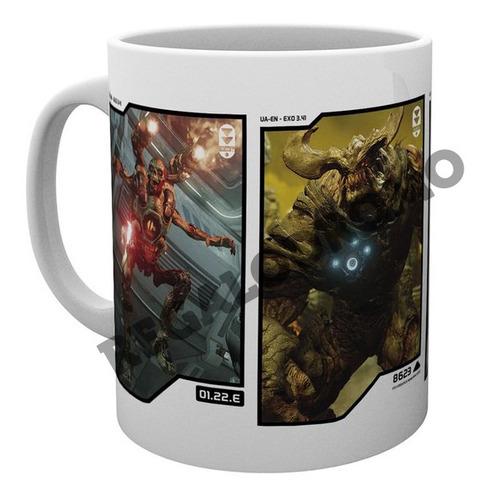 Mug De Doom, 11 Onzas, Nuevo, Cerámica, M7