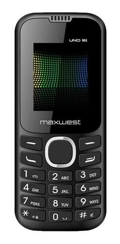 Maxwest M6 Dual SIM 32 MB negro 32 MB RAM