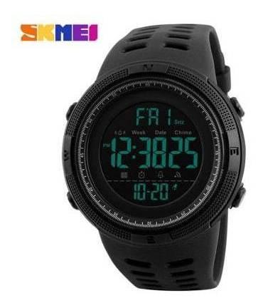 Relógio Esportivo Masculino Digital Led Mecanismo Do Pulso 5
