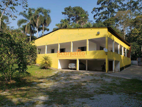 Chácara Com 4 Dorms, Chácara Vista Alegre, Itapecerica Da Serra - R$ 900 Mil, Cod: 206 - V206