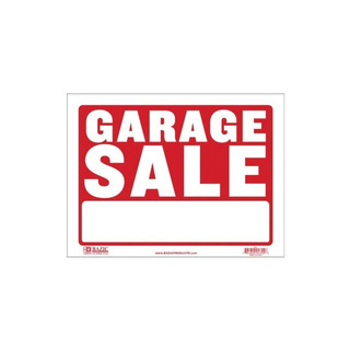 Bazic 12 X 16 Garage Sale Sign Case Pack 360 Computadoras, E