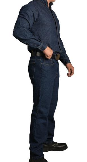 Pantalon De Mezclilla 14.5onz Para Trabajo Uso Rudo