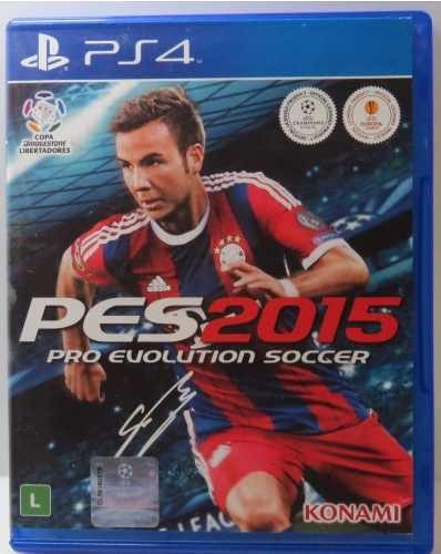 Pro Evolution Soccer 2015 Pes 15 Ps4 Midia Fisica