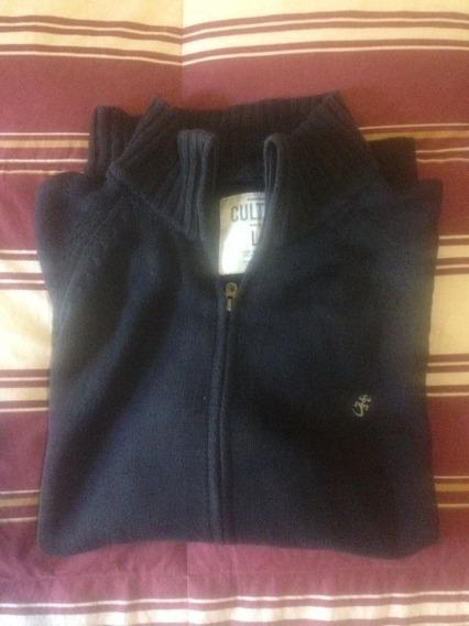 Cardigan Sweater C/cierre Cultura