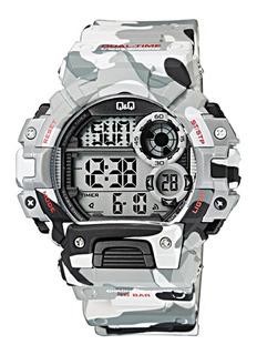 Reloj Q&q By Citizen M144j006 Camuflado 100m Para Hombre
