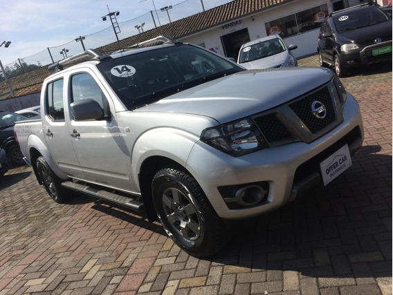 Nissan Frontier Attack Cab. Dupla 4x4 2014