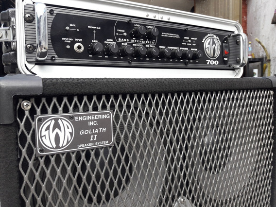 Amplificador Swr (head Working Pro 700) + (gabinete Goliath