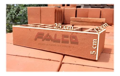 Imagen 1 de 7 de Ladrillo Visto 5x25x12cm 11 Huecos - Fábrica Falco