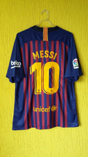 Camisa Barcelona 2018 La Liga Original - Camisas de Times de Futebol ... 281ed91801d