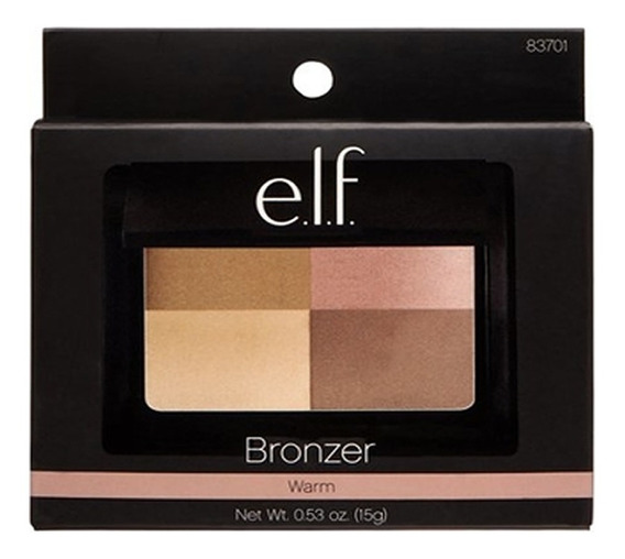 Paleta Bronzer - Elf Bronzer (tons: Golden, Cool E Warm)