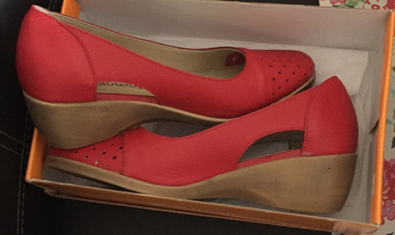 Zapatos Mujer Cuero Nuevo