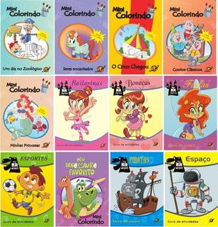 100 Livros De Colorir / Atividades Infantis Atacado Vários
