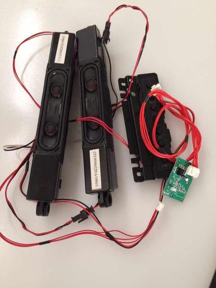 Sensor Teclado E Auto Falantes Da Tv Buster Modelo Hbtv42l01