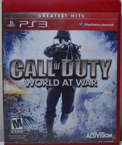 Jogo De Ps3 Call Of Duty World At War Em Mídia Física