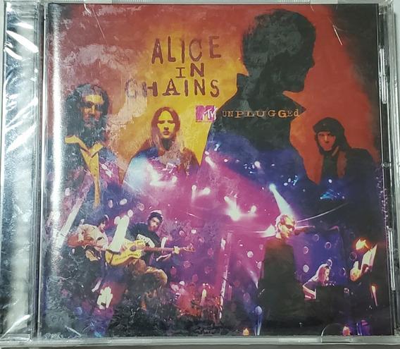 Alice In Chains - Cd + Dvd Unplugged Mtv/import/novo/lacrado