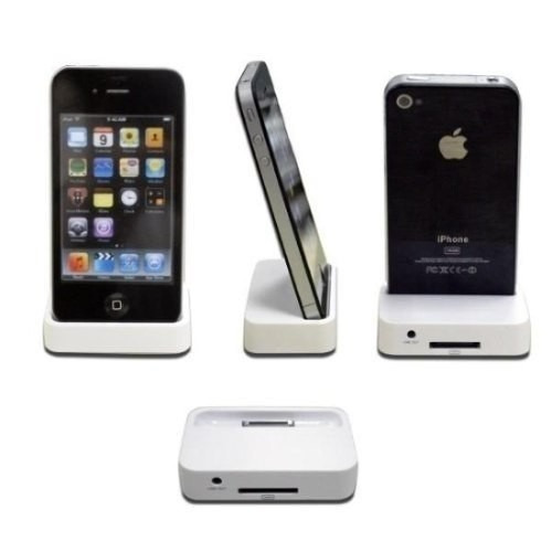 10 Docks Station Para iPhone 4 4s 4g - Conecte O Áudio