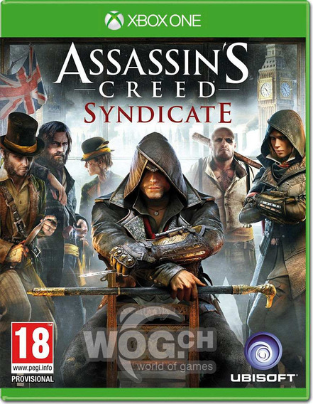 Jogo Xbox One Assassins Creed Syndicate Midia Fisica Pt Br