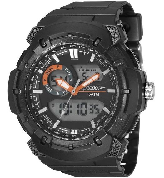 Relógio Speedo Masculino 81184g0evnp1c/ Garantia E Nf