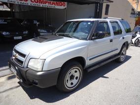 Chevrolet Blazer 2.4 Advantage Flex 5p Prata Maravilhosa