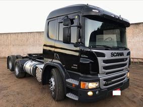 Scania P360 6x2 Preta Ano 2013
