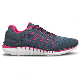 Tenis Olympikus Action/596 Marinho Pink Calçados Bola7