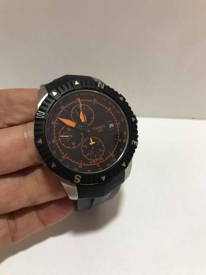 Relogio Tissot T Navigator Automatic Chronograph 44mm N/tag