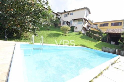 Casa Com 4 Dormitórios À Venda, 200 M² Por R$ 920.000,00 - Jardim Cascata - Teresópolis/rj - Ca0347