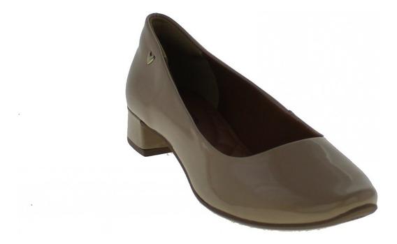 Sapato Mississipi X9101 Feminino Salto Baixo Bico Redondo