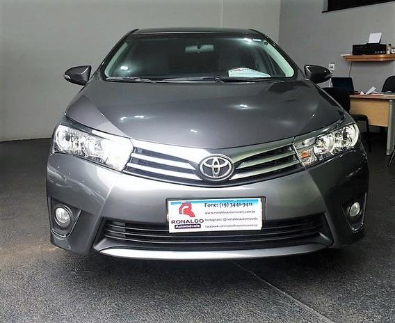 Toyota Corolla 1.8 16v 4p Gli Automático