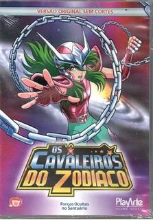Os Cavaleiros Do Zodíaco Ep. 15,16,17,18 - Dvd