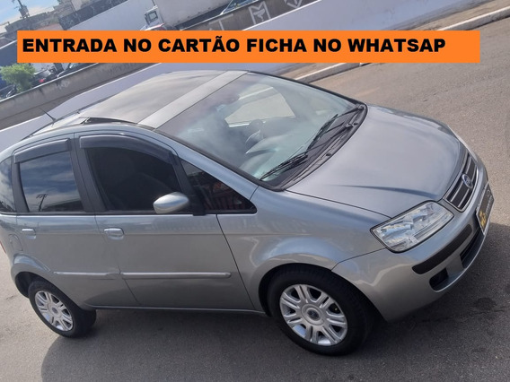 Fiat Idea 2006 Com Teto Solar Ficha No Whatsap