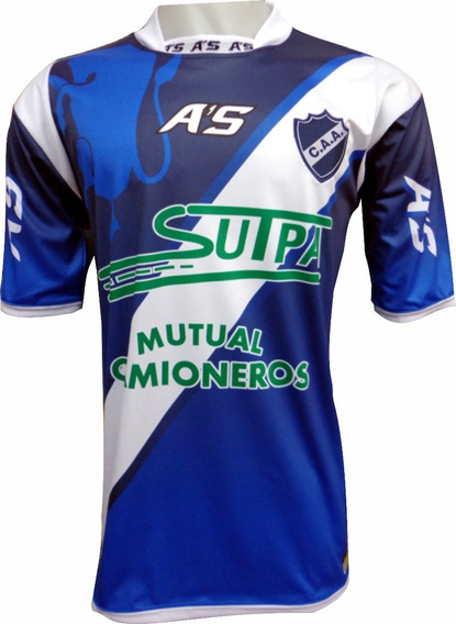 Camiseta De Futbol Alvarado Mar Del Plata A
