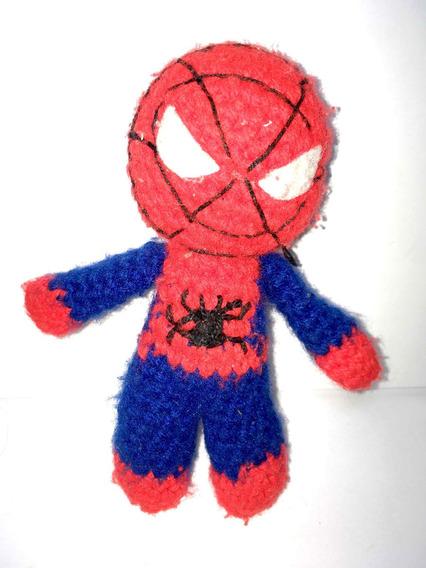 Pelúcia Homem Aranha Lã Boneco Spider Man Infantil Kids