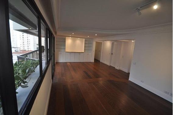 Apartamento Com 4 Dormitórios Na Vila Nova Conceição Para Locaçãopara Alugar, 160 M² Por R$ 7.800/mês - Vila Nova Conceição - São Paulo/sp - Ap6077