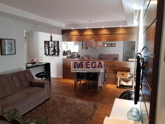 Apartamento Com 3 Dormitórios À Venda, 78 M² Por R$ 525.000 - Jardim Nova Europa - Campinas/sp - Ap3757