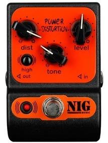 Pedal De Guitarra Nig Power Distortion Ppd
