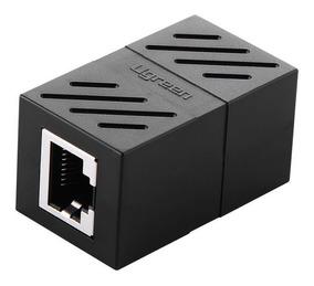 Rj45 Adaptador Conector Emenda Cat7/6/5e Ethernet Lan Ugreen