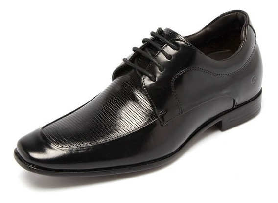 Sapato Masculino Democrata Taller Still 061113 Vc 6cm +alto