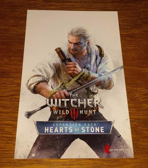 Witcher 3 Wild Hunt - Hearts Of Stone Resgate Steam