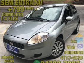 Fiat Punto 1.4 Attractive Flex 5p Completo Sem Entrada+799