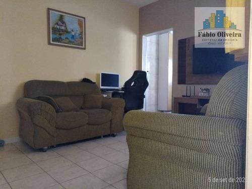 Casa Com 1 Dormitório, 81 M² - Venda Por R$ 240.000,00 Ou Aluguel Por R$ 1.100,00/mês - Jardim Irene - Santo André/sp - Ca0222