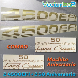 Kit Machito 4500efi + 50 Aniversario Color Dorado Original