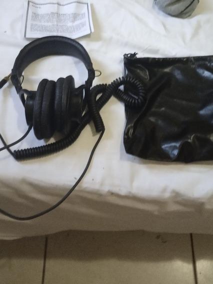 Fone / Headphone Sony Mdr 7506 Studio Gravação Acústica