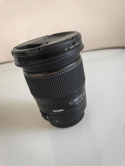 Lente Sigma 20mm F1.8 Ex Dg P/ Canon