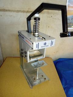 Maquina Tampografica Manual + Reveladora + Tampão - Tudo Novo - Para Personalizar Brindes - Pronto Para Trabalhar