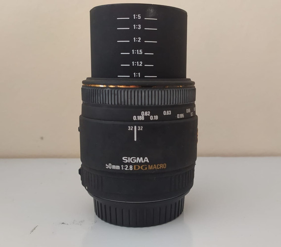 Lente Sigma 50mm F/1.8 Macro P/canon Usada