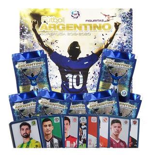 Álbum Fútbol Superliga 2019 2020 + 100 Figuritas + 10 Sobres